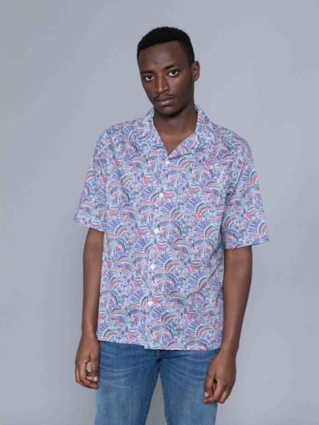 Albam Thompson Print Shirt Multi brand