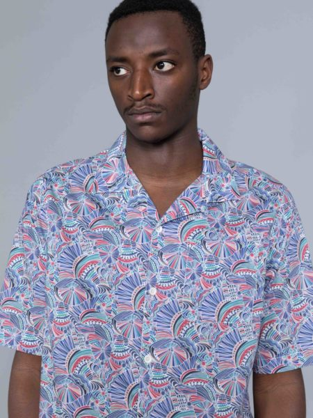 Albam Thompson Print Shirt Multi sales