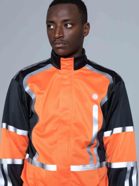 Astrid Andersen Track Jacket Orange sales
