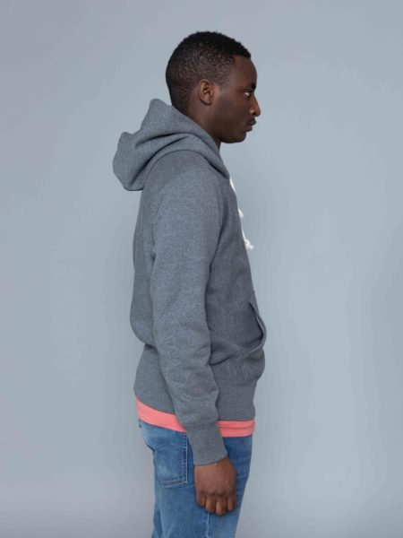 Champion Classic Logo Hoodie Dark Grey outlet