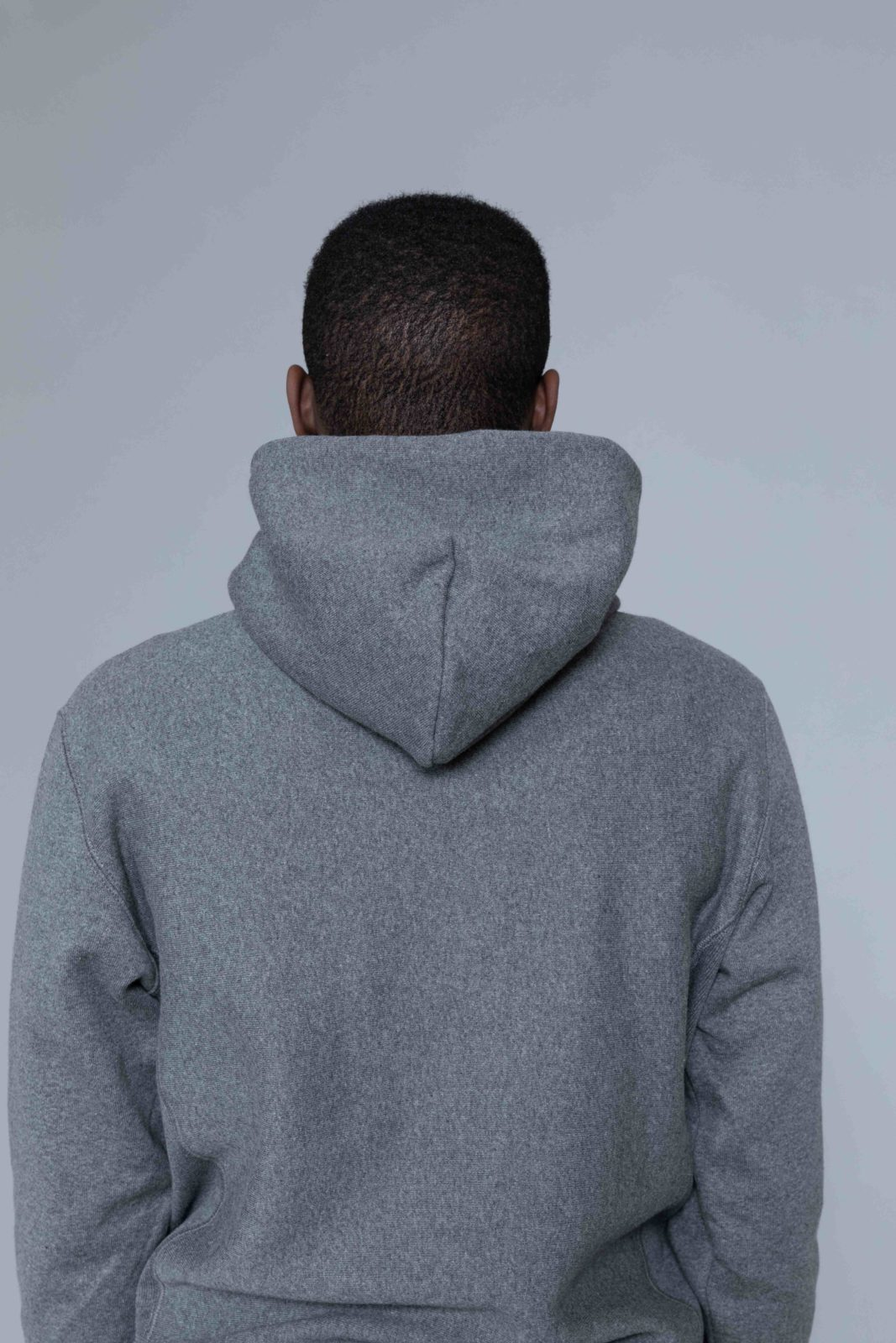 7ee7a91d Champion Classic Logo Hoodie Dark Grey • Centreville Store in Brussels