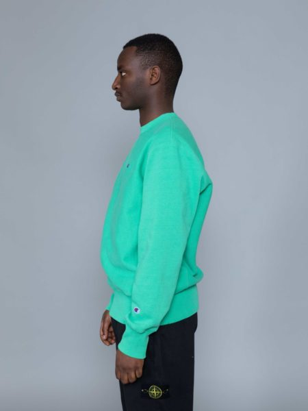 Champion Classic Sweat Kelly Green reverse weave