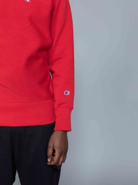 Champion Classic Sweat Red sale