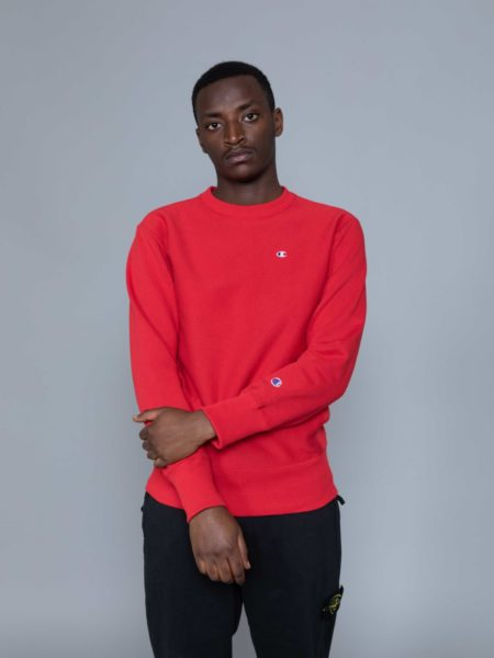 Champion Classic Sweat Red sales