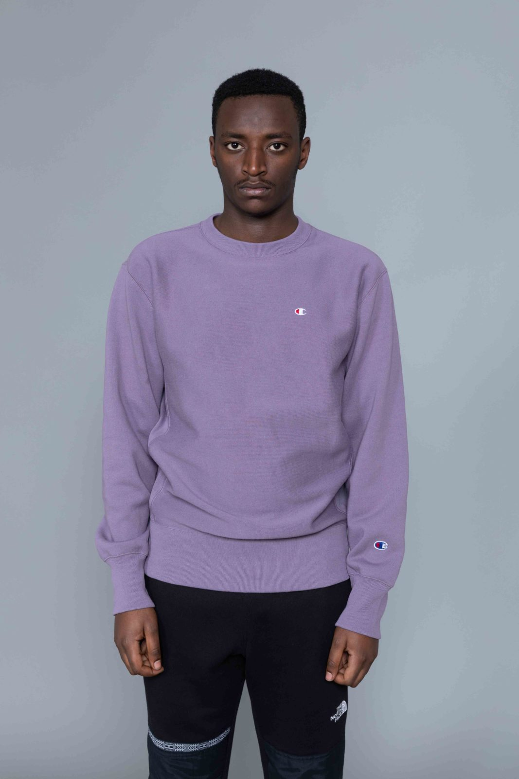 2359c4109e9 Champion Classic Sweat Washed Purple • Centreville Store in Brussels