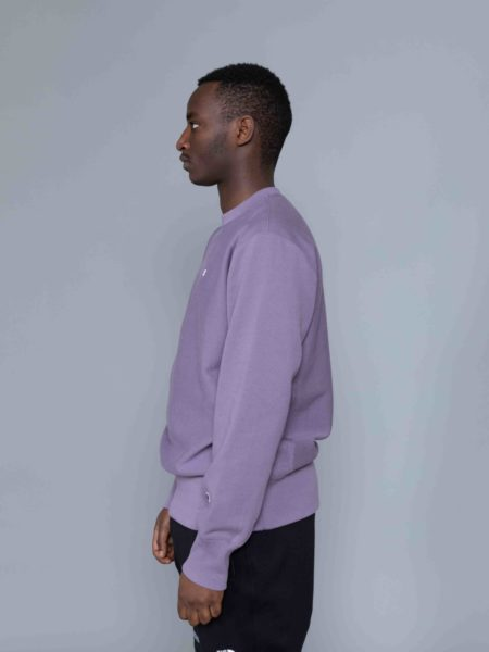 Champion Classic Sweat Washed Purple crewneck