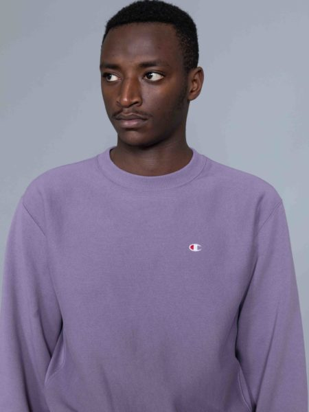 Champion Classic Sweat Washed Purple reverse weave