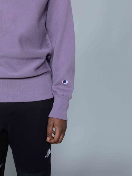 Champion Classic Sweat Washed Purple reverse weave sale