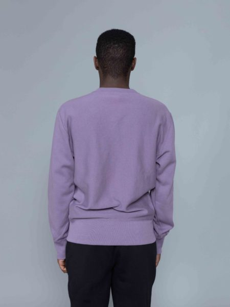 Champion Classic Sweat Washed Purple sale