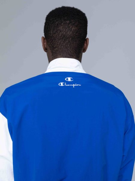 Champion Colour Block Track Jacket Blue