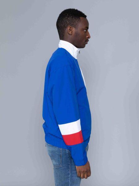 Champion Colour Block Track Jacket Blue crewneck
