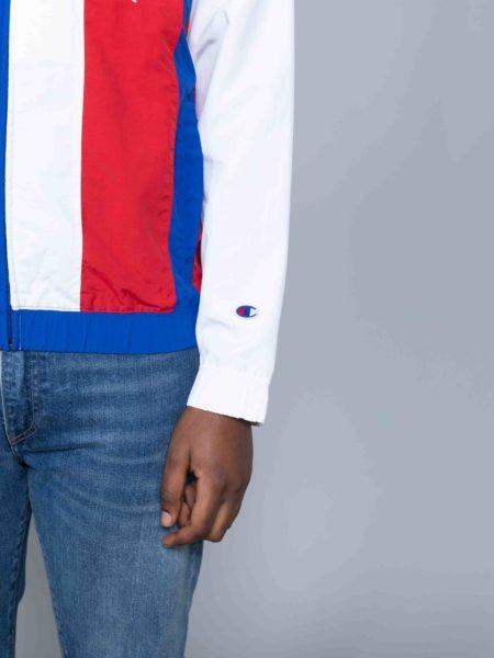 Champion Colour Block Track Jacket Blue sale