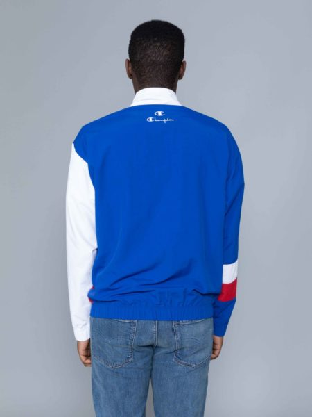 Champion Colour Block Track Jacket Blue shop
