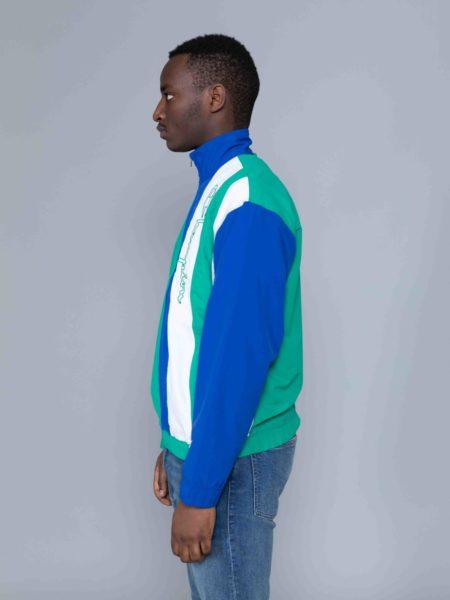 Champion Colour Block Track Jacket Green sale