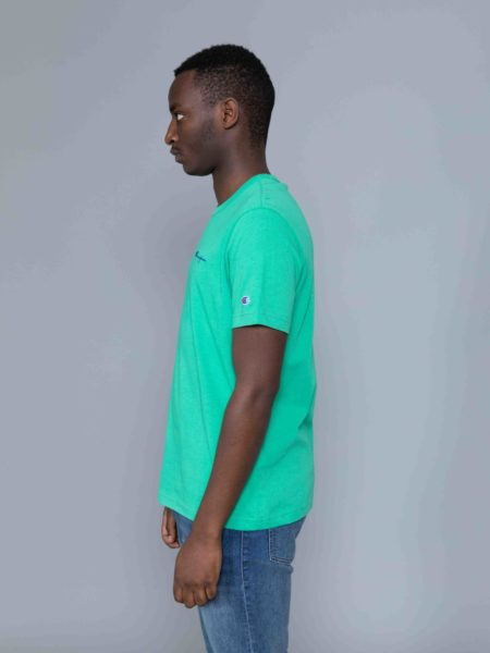 Champion Small Logo Tshirt Kelly Green sale
