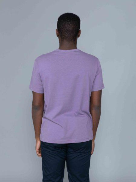 Champion Small Logo Tshirt Washed Purple brussels