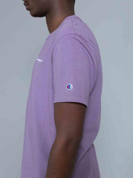 Champion Small Logo Tshirt Washed Purple sale