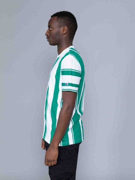 Champion Stripes Tshirt Green outlet
