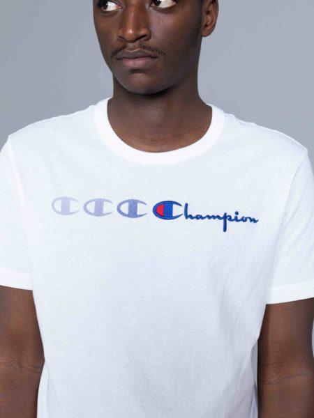 Champion Triple Logo Tshirt white