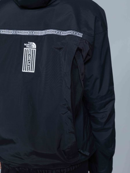 The North Face 92 Retro Rage Rain Jacket black TNF