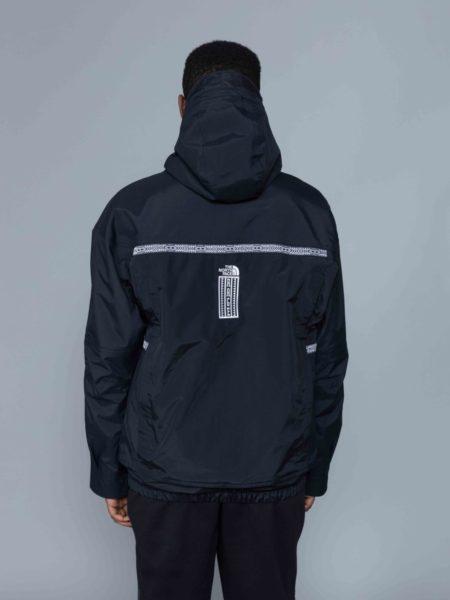 The North Face 92 Retro Rage Rain Jacket black brussels