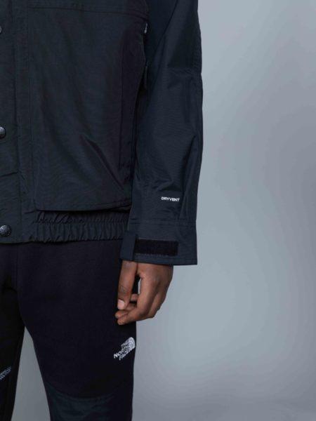 The North Face 92 Retro Rage Rain Jacket black shop