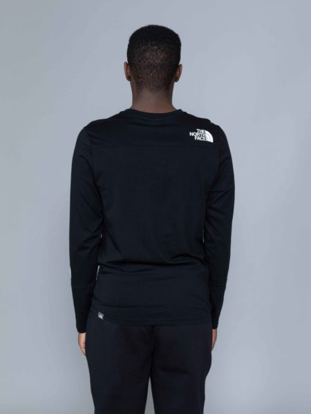 The North Face Long Sleeve Light Tshirt Black TNF