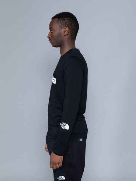 The North Face Long Sleeve Light Tshirt Black brussels