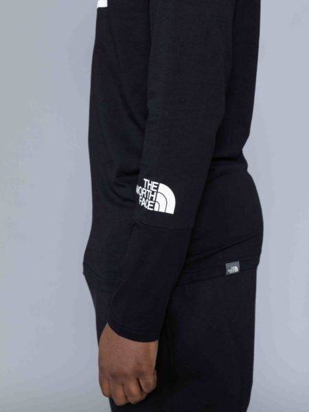 The North Face Long Sleeve Light Tshirt Black sale