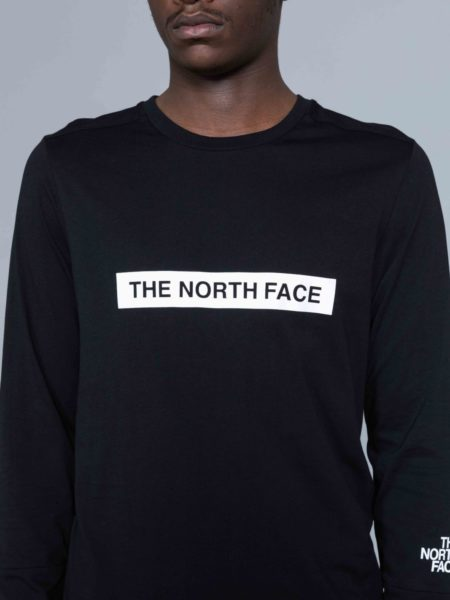 The North Face Long Sleeve Light Tshirt Black shop