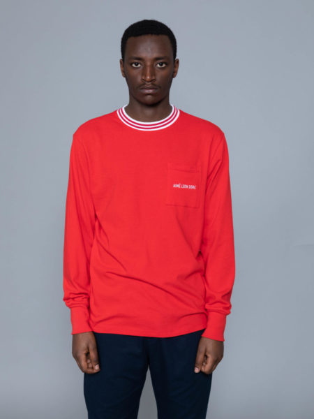Aime Leon Dore Long Sleeve Ribbed Collar brussels