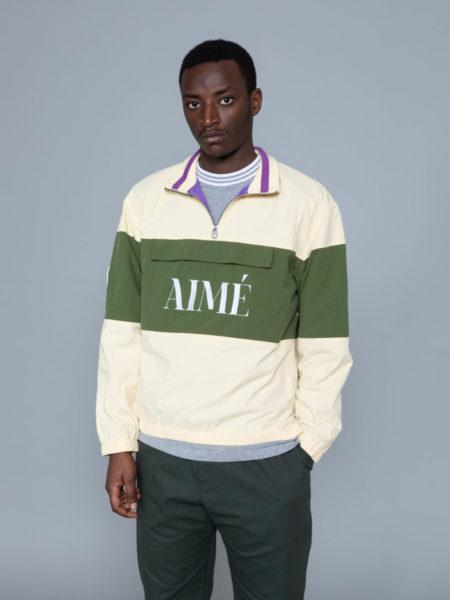 Aime Leon Dore Nylon Quarter Zip Pullover brussels shop