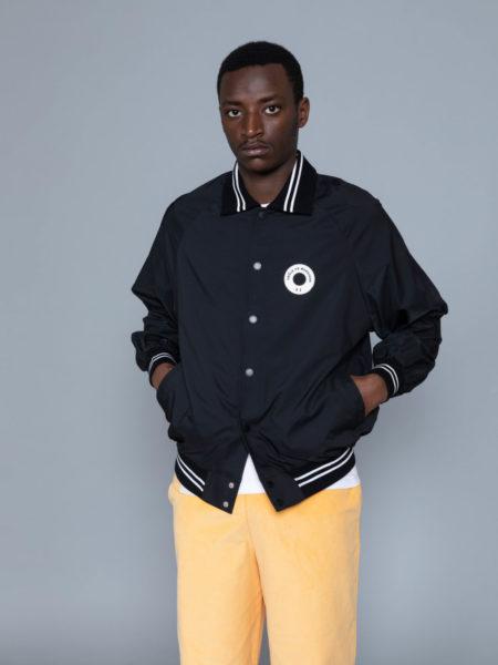 Drole de Monsieur NFPM Varsity Jacket Black not from paris