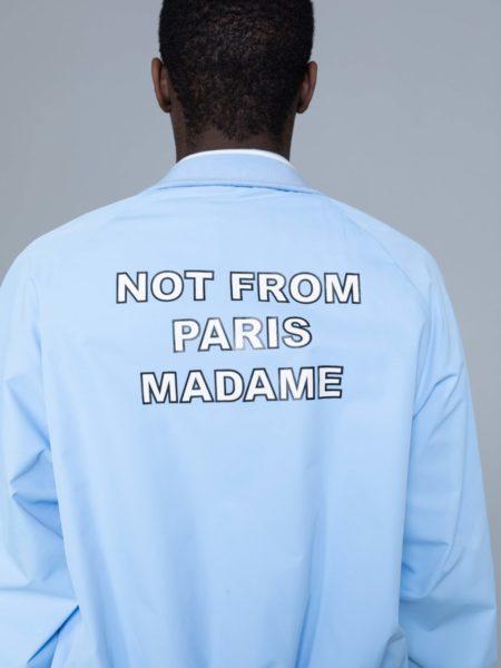 Drole de Monsieur NFPM Varsity Jacket Blue