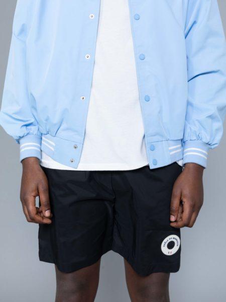 Drole de Monsieur NFPM Varsity Jacket Blue sale