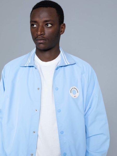 Drole de Monsieur NFPM Varsity Jacket Blue sales