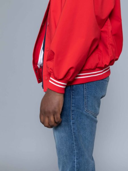 Drole de Monsieur NFPM Varsity Jacket Red brand