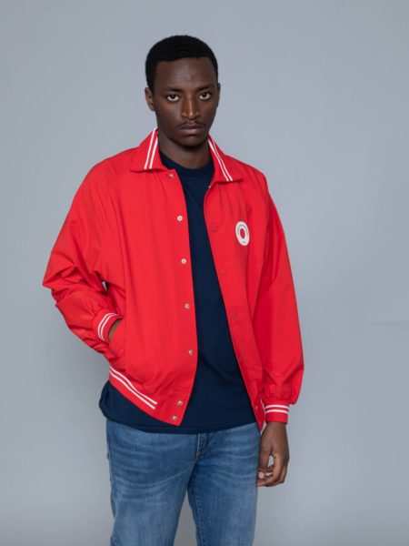Drole de Monsieur NFPM Varsity Jacket Red sales