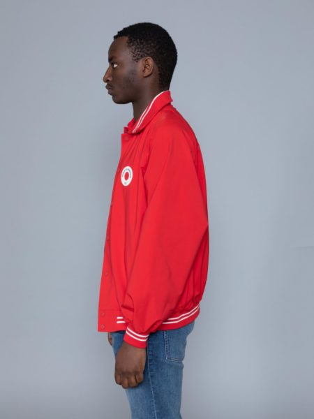 Drole de Monsieur NFPM Varsity Jacket Red store