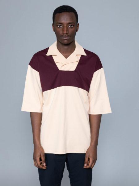 Drole de Monsieur Notched Collar Polo shop online
