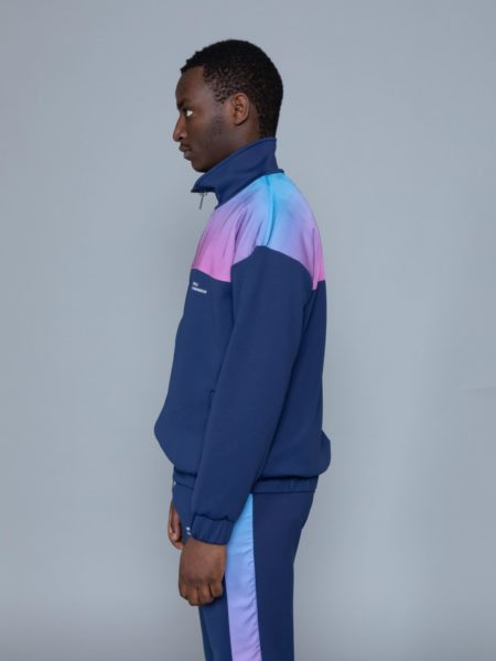 Drole de Monsieur Shaded Satin Track Jacket brussels.