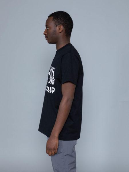 Mrc Noir Distortion Fake Pocket Tshirt M+RC NOIR