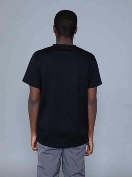 Mrc Noir Distortion Fake Pocket Tshirt marche noir