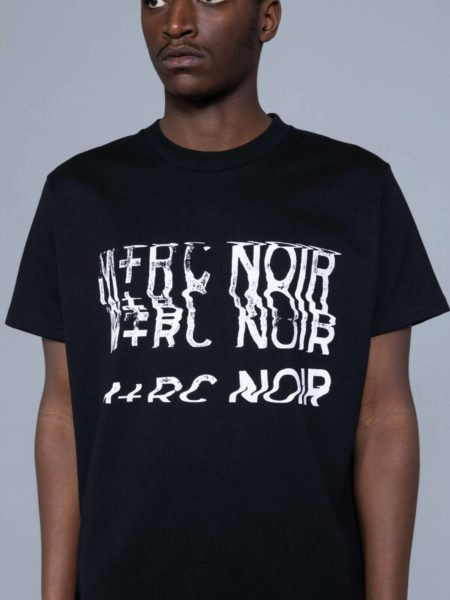 Mrc Noir Distortion Fake Pocket Tshirt marche noir paris