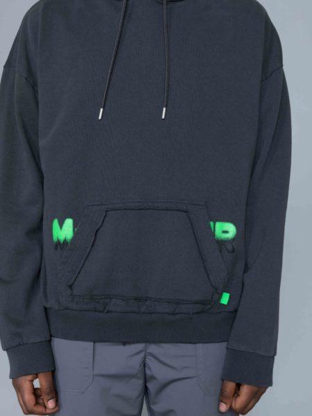 Mrc Noir Spray Hoodie M+RC NOIR