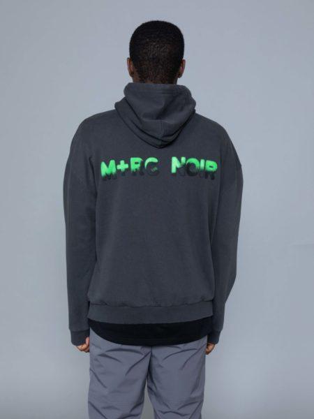 Mrc Noir Spray Hoodie marche noir paris