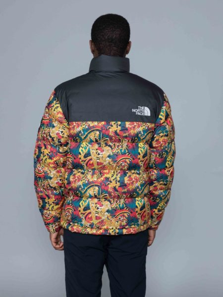 The North Face 1992 Nuptse Jacket Leopard Print brussels