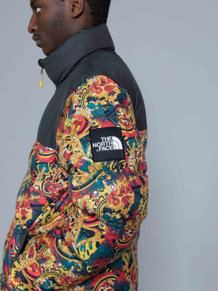 The North Face 1992 Nuptse Jacket Leopard Print puffer