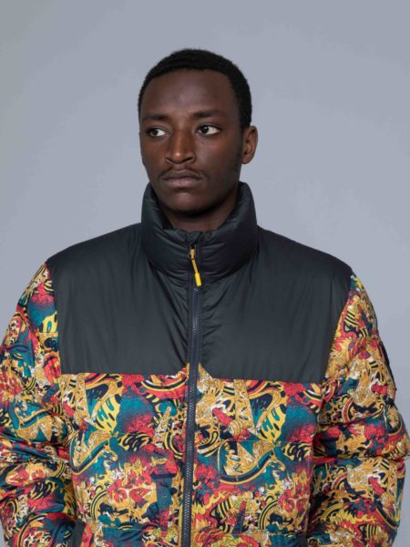The North Face 1992 Nuptse Jacket Leopard Print sale