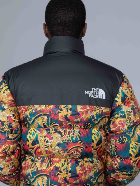 The North Face 1992 Nuptse Jacket Leopard Print sales